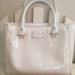 Kate Spade White Summer Purse/Tote/Handbag ♠️